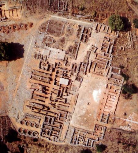 Détail du palais de Malia