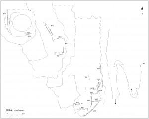 Fig. 8. Croquis de Masafi-4 (Janvier 2013).