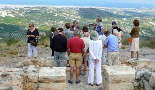 Des membres de l'AAMO participent à un voyage en Crète (2009)