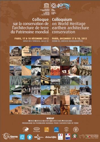 Affiche Colloque UNESCO