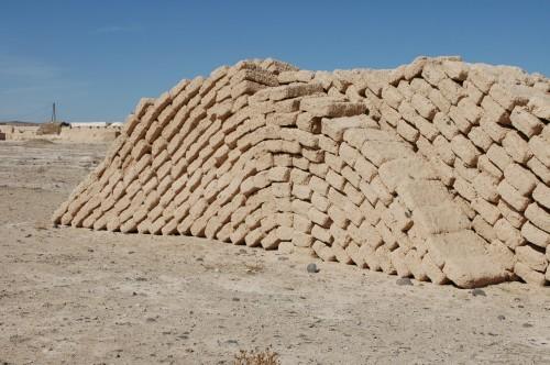 Briques en phase de séchage, Syrie (Th. Boudier)