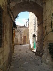 Une rue du cœur historique de Lecce