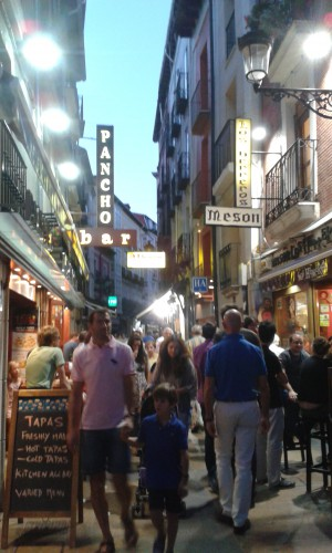 Fig. 8 : les bars à tapas de Burgos