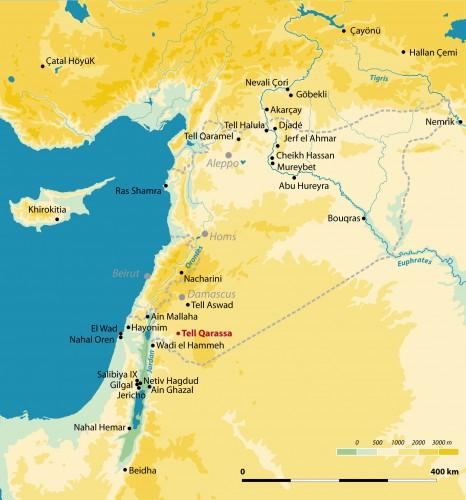 Fig. 1 : carte de localisation du site.