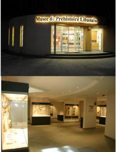 Fig.1 : Le Musée de Préhistoire libanaise, Université Saint-Joseph, Beyrouth.