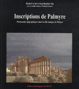 Livre inscriptions Palmyre