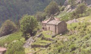 Fig. 3 : Ermitage de Saint-Guillem de Combret (Pèlerin, Dossier de presse des Lauréats)