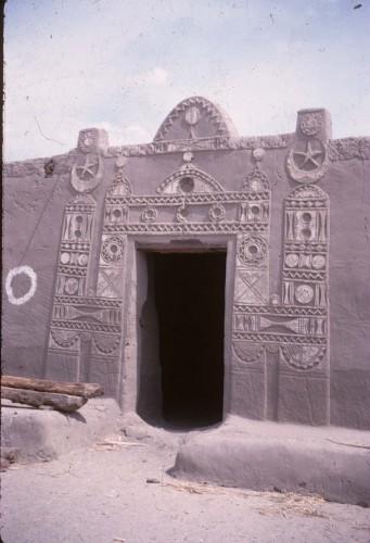 Fig. 3 : Maison nubienne abandonnée.
