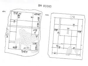 Fig. 5 : Wiseman 1972, p. 144, BM 80083