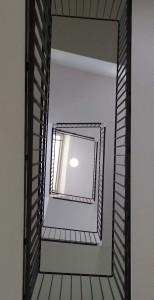 Fig. 11 : la cage d'escalier du bâtiment de l'aula de l'Académie des Sciences (photo S. Müller Celka).