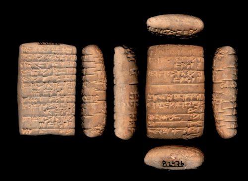Fig. 11 : Texte A2976, Institut Oriental de Chicago, provenance inconnue, voir encadré (d'après CDLI).