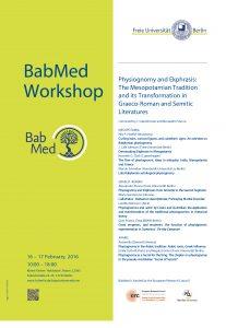 Affiche BabMed Workshop