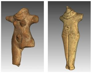 Fig. 1 : Terracotta figurines from Hama (Syria, Middle Bronze Age, 1700-1600 BC). With kind permission from the National Museum of Denmark (Nationalmuseet, Copenhagen); 3D model by ArchéObjet 3D Project.