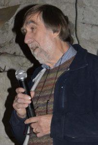Fig. 1 : Jacques Chabert ouvrant la 26e Rencontre d'Octobre (Photo Françoise Prudhomme)