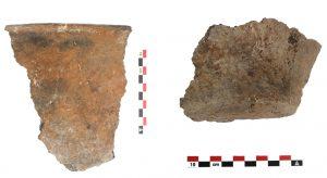 Fig. 11 : Fragments de céramique chalcolithique. © Mission Caucase.