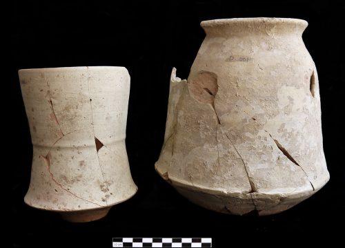 Fig. 3 : Céramique pré-achéménide du Bala Hissar de Bactres (© J. Lhuillier/DAFA)